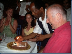 Geoff 58th Birthday Party - Tunisia