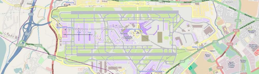 Finding  Heathrow Terminal 5
