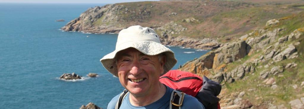 Geoff on South West Coast Path