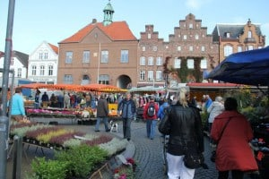 Market day in Husum