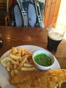 Fish & Chips with Guinness