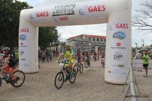 GAES Titan bike race Havana