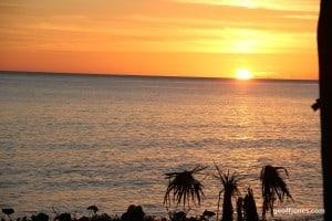 Sunset at La Bajada