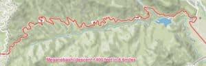 Meganebashi Valley descent