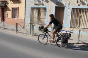 Martí the fast biker