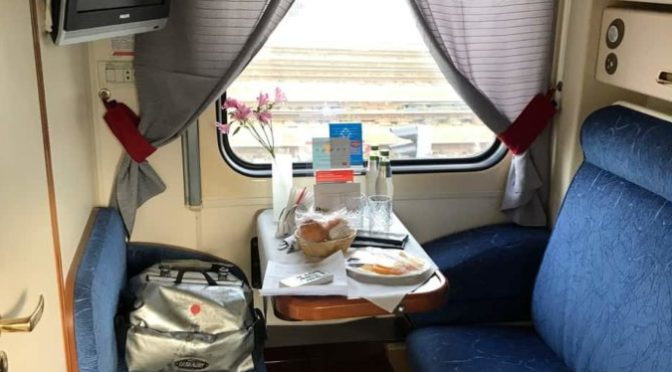 On the Russian trains