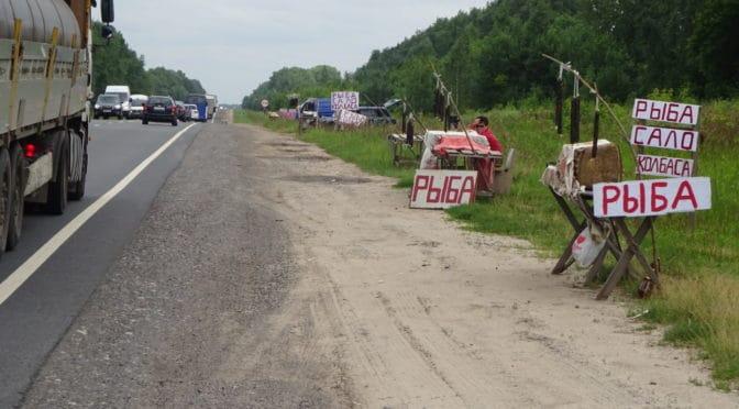 Volga ride Lyskovo to Talgar Motel